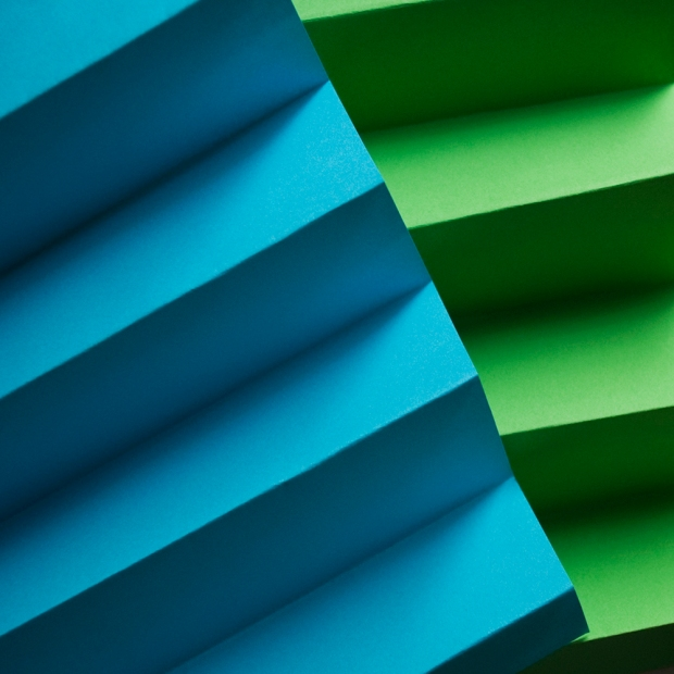 Verde y Azul
